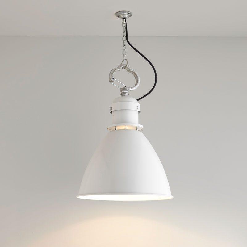 Davey Lighting 7380 Small Pendant Light Light Grey