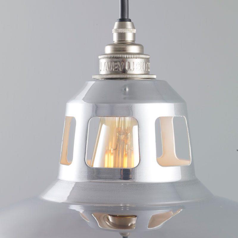 Davey Lighting Aluminium Punch Pendant Light