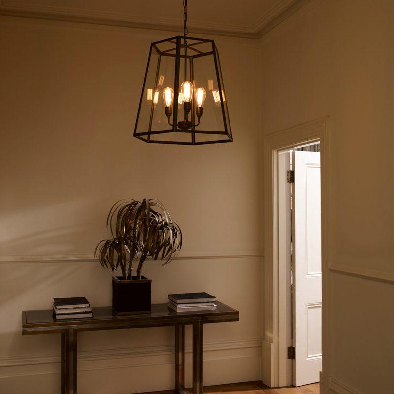 Davey Lighting Hex Xl Pendant Light D