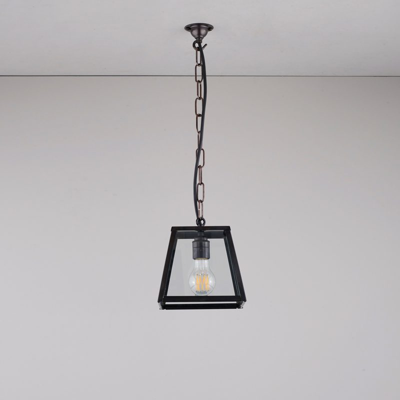 Davey Lighting Quad Small Pendant Light Weathered Brass B