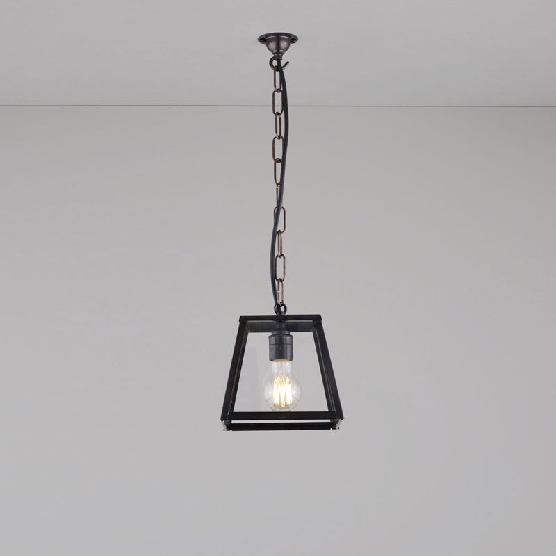 Davey Lighting Quad Small Pendant Light Weathered Brass