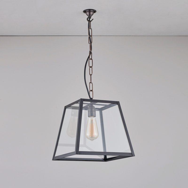Davey Lighting Quad Medium Pendant Light Weathered Brass C