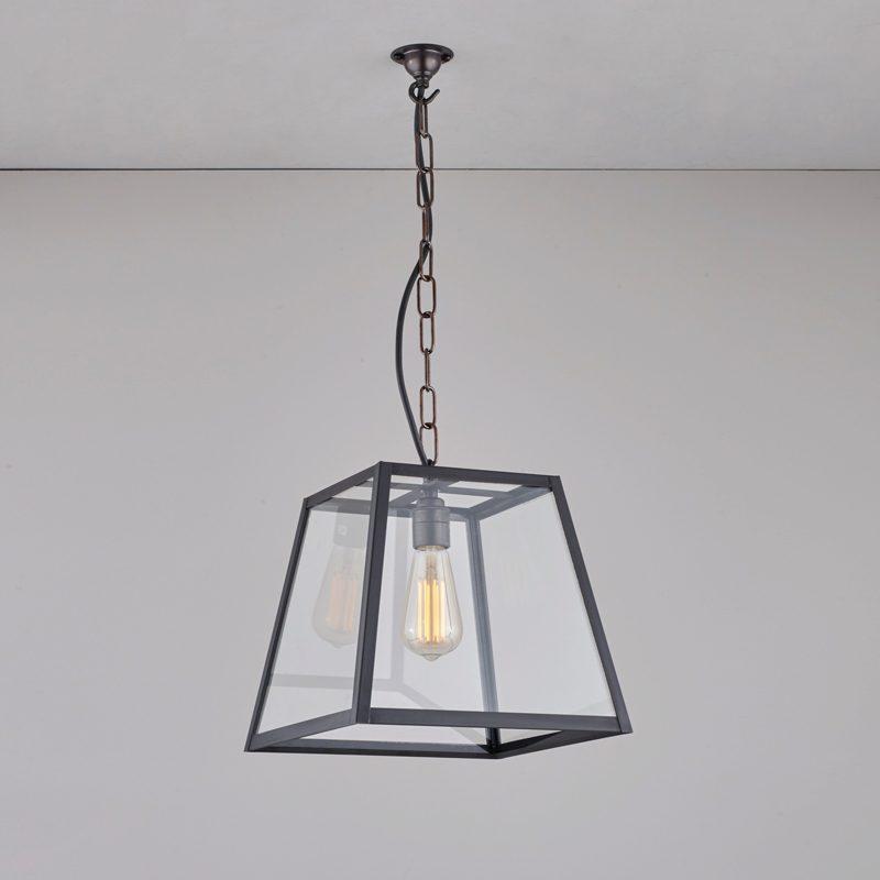 Davey Lighting Quad Medium Pendant Light Weathered Brass D