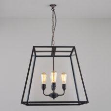 Davey Lighting Quad Xl Pendant Light Weathered Brass