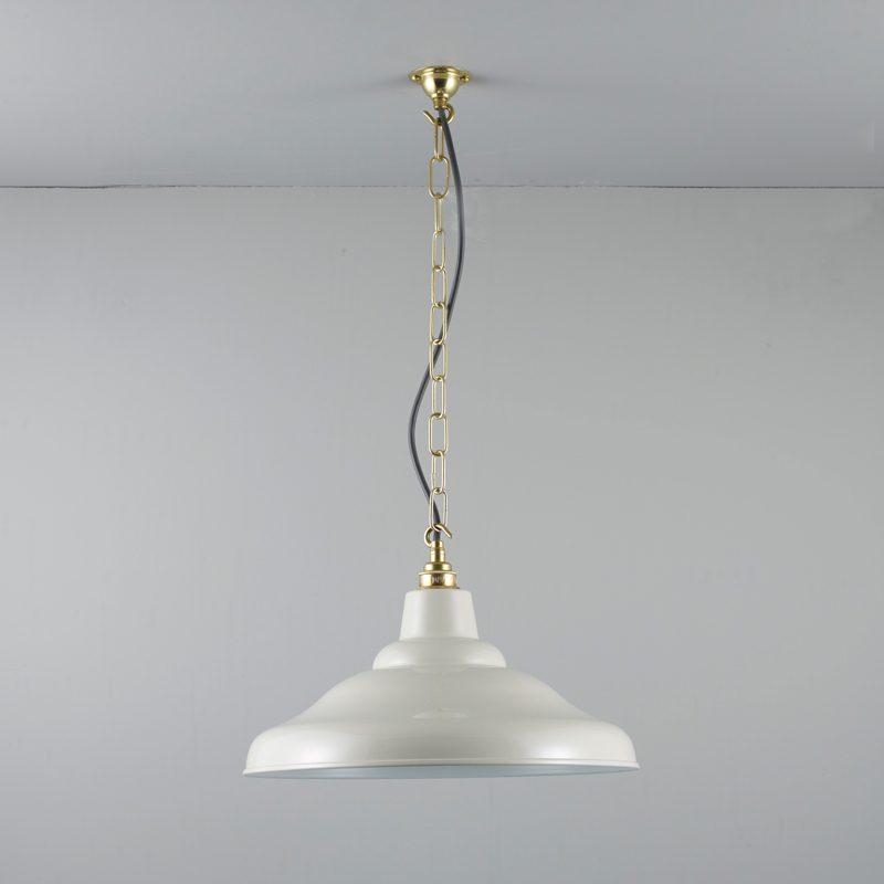 Davey Lighting School Pendant Light Putty Grey C