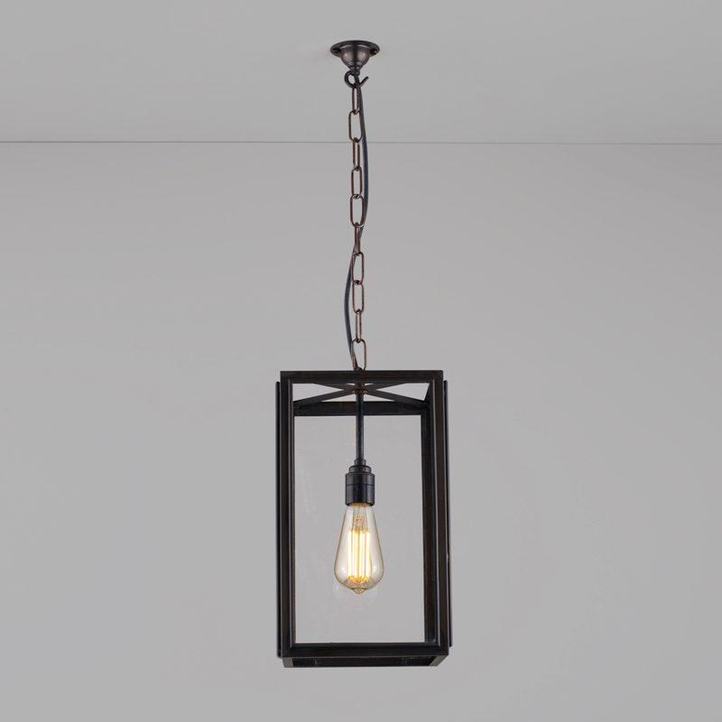 Davey Lighting Square Small Light Clear Glass B