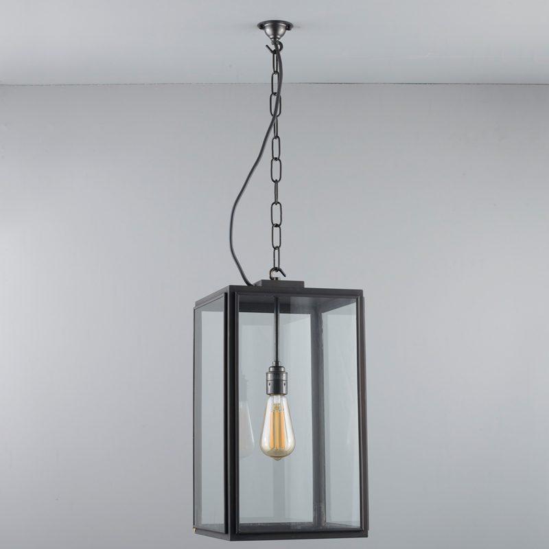 Davey Lighting Square Ip Light Clear Glass C