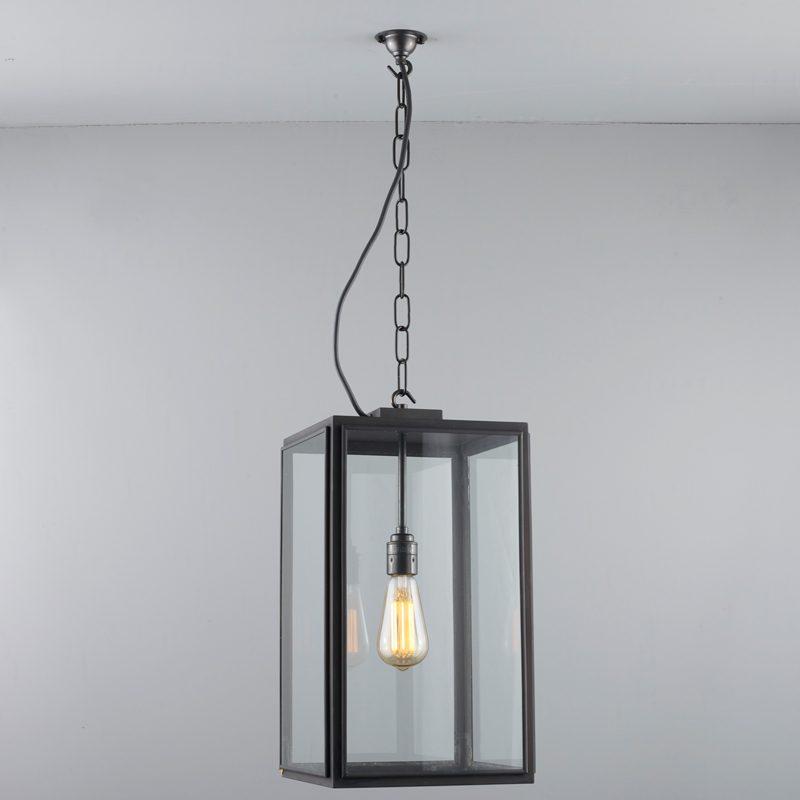 Davey Lighting Square Ip Light Clear Glass D