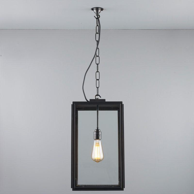 Davey Lighting Square Ip Light Clear Glass