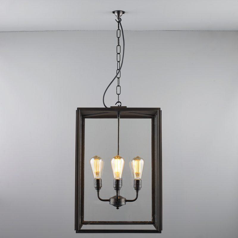 Davey Lighting Square Xl Ip Pendant Light