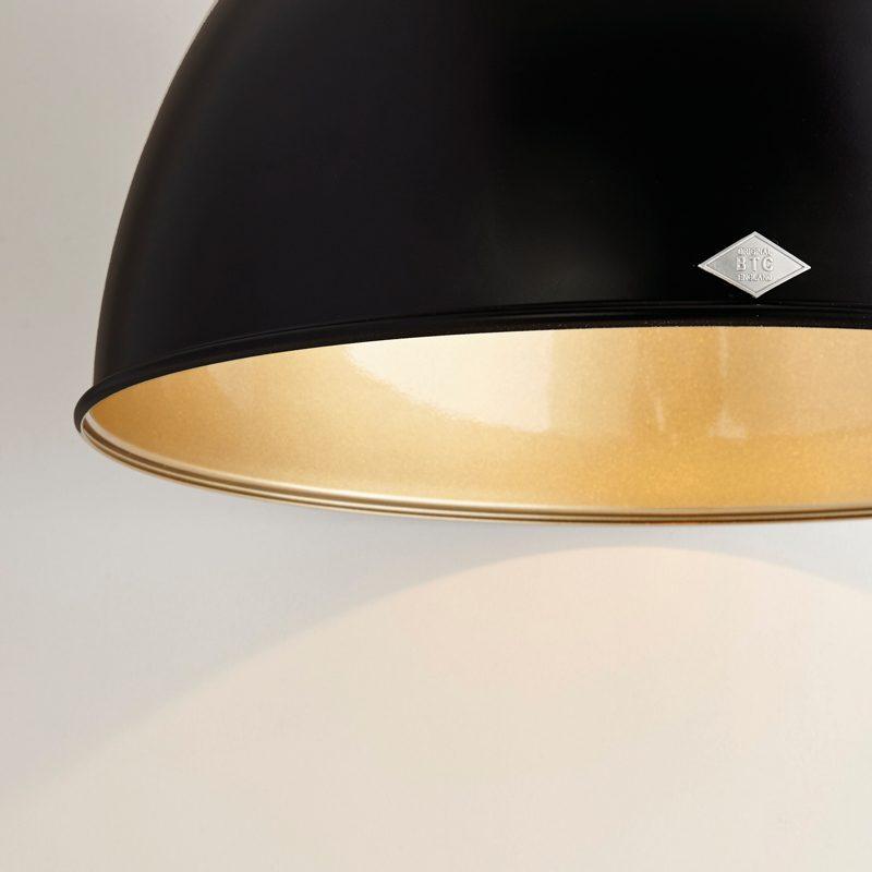 Original Btc Titan 5 Pendant Light Black Bronze B On