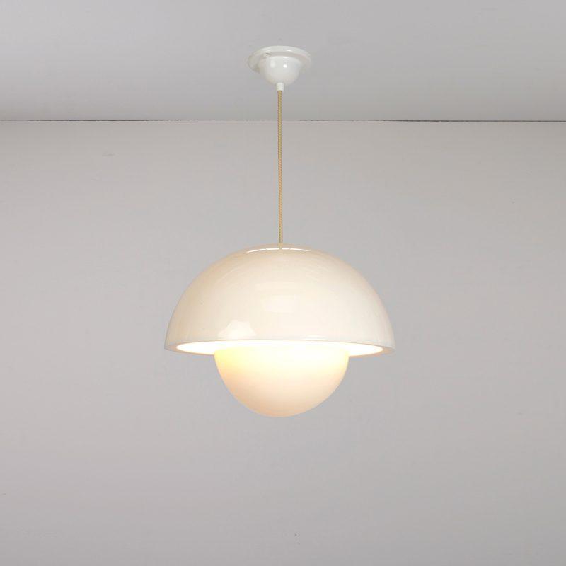 Original Btc Doma Small Pendant Light White