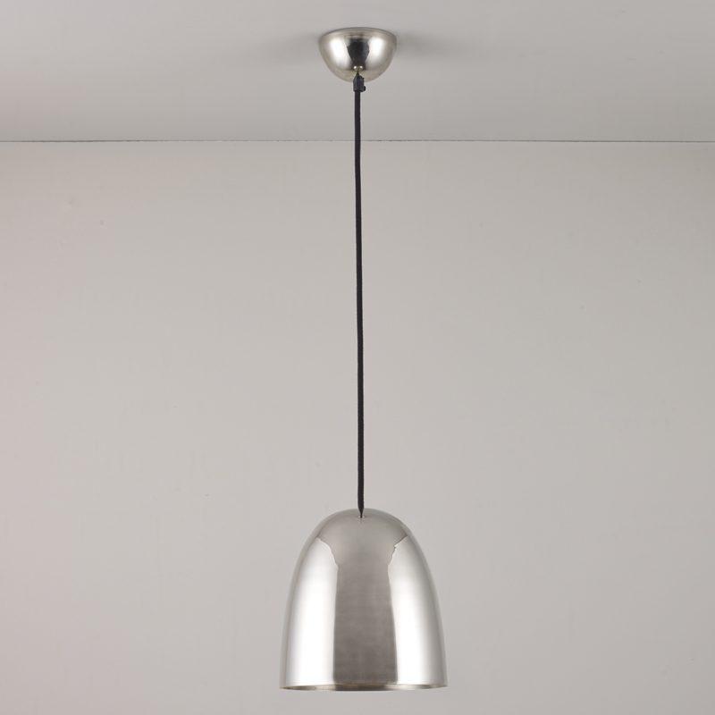 Original Btc Stanley Small Pendant Light Polished Nickel Off