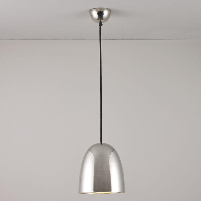 Original Btc Stanley Small Pendant Light Polished Nickel On