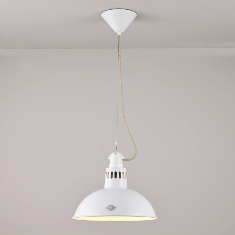 Original Btc Paxo Pendant Light White On