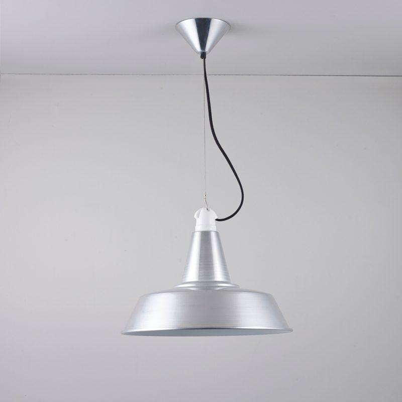 Original Btc Quay Pendant Light Aluminium Off