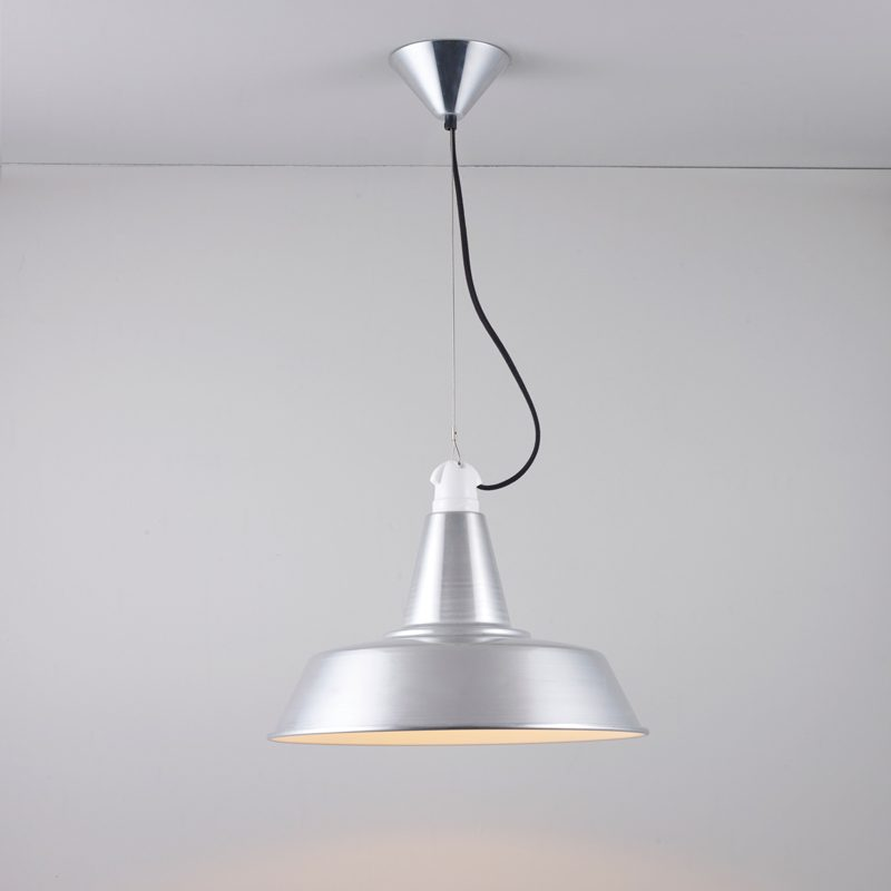 Original Btc Quay Pendant Light Aluminium On