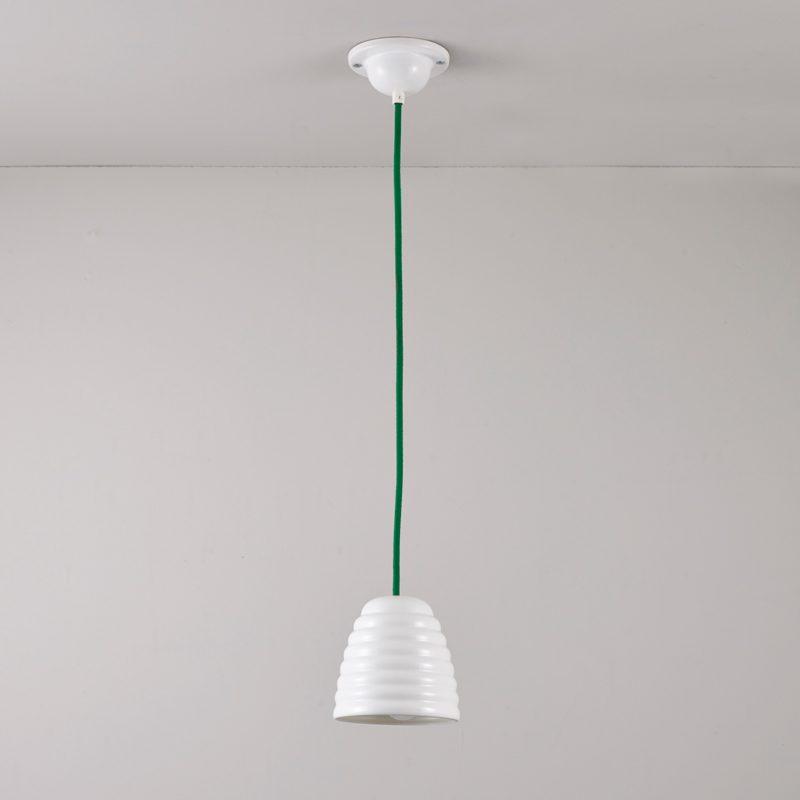 Original Btc Hector Bibendum 1 Pendant Light Green Off