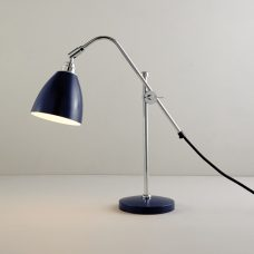 Original Btc Task Small Table Lamp Blue On