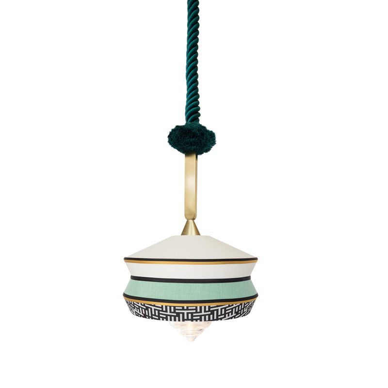 Contardi Calypso Antigua Outdoor Pendant Light Mint