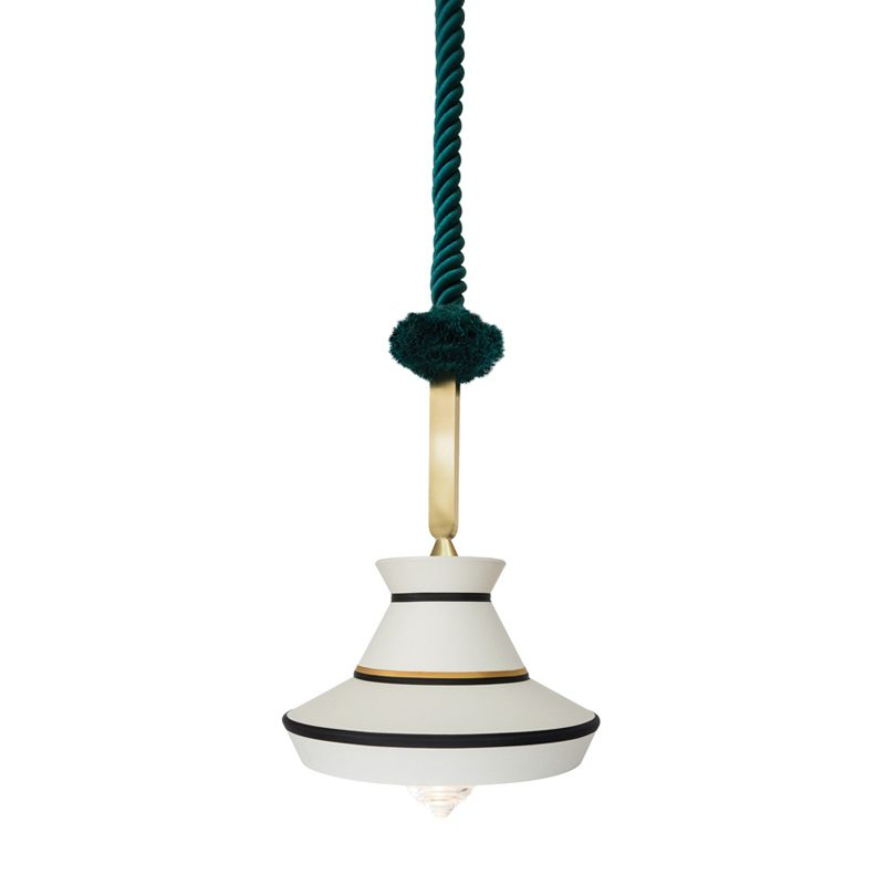 Contardi Calypso Guadaloupe Outdoor Pendant Light White
