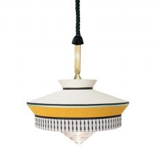 Contardi Calypso Martinique Xl Outdoor Pendant Light Yellow
