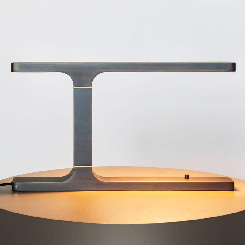 Contardi Beam Table Lamp Satin Bronze C