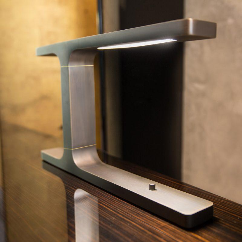 Contardi Beam Table Lamp Satin Bronze D