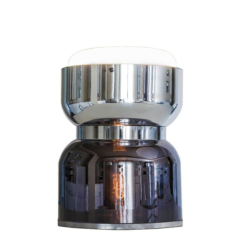 Contardi Clessidra Kronos Table Lamp Satin Chrome