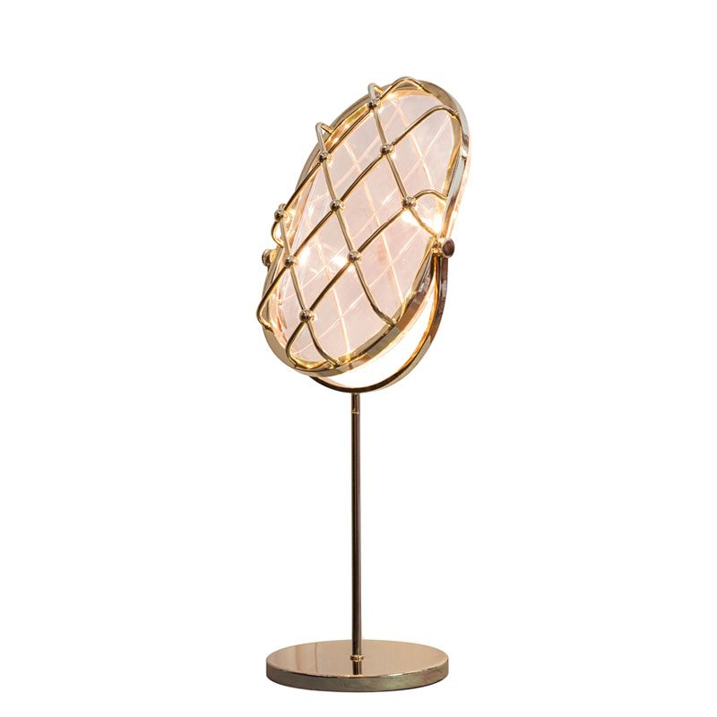 Contardi Crystal Small Table Lamp Pink