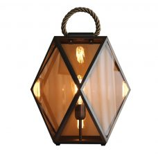 Contardi Muse Large Lantern Table Lamp Bronze