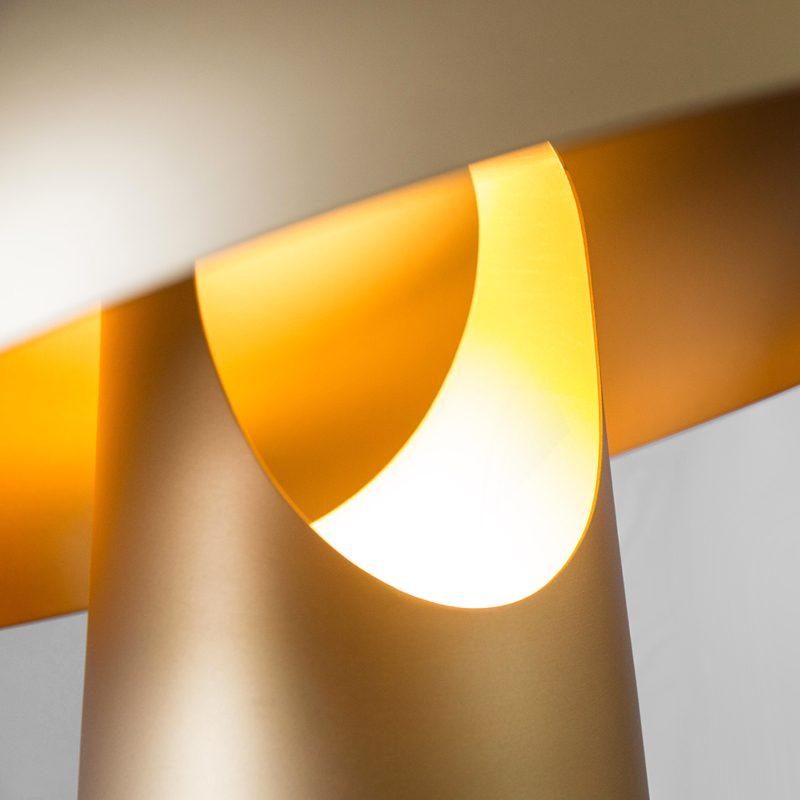 Contardi Ongo Xl Table Lamp Light Bronze B