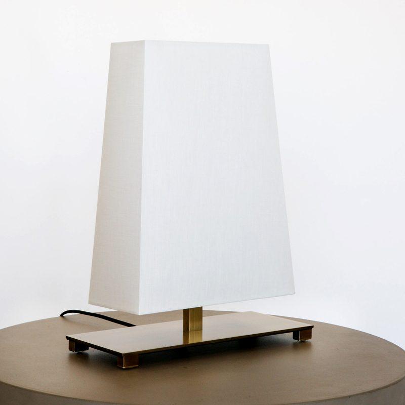Contardi Rettangola Small Table Lamp Satin Bronze B