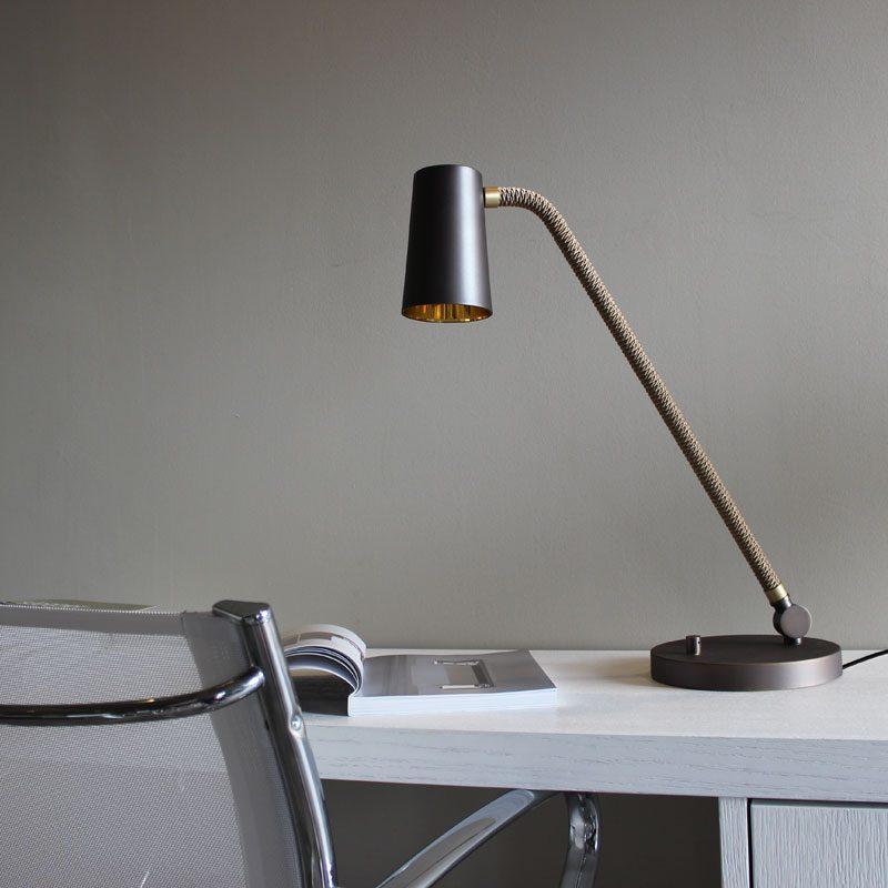 Contardi Up Desk Lamp Bronze D
