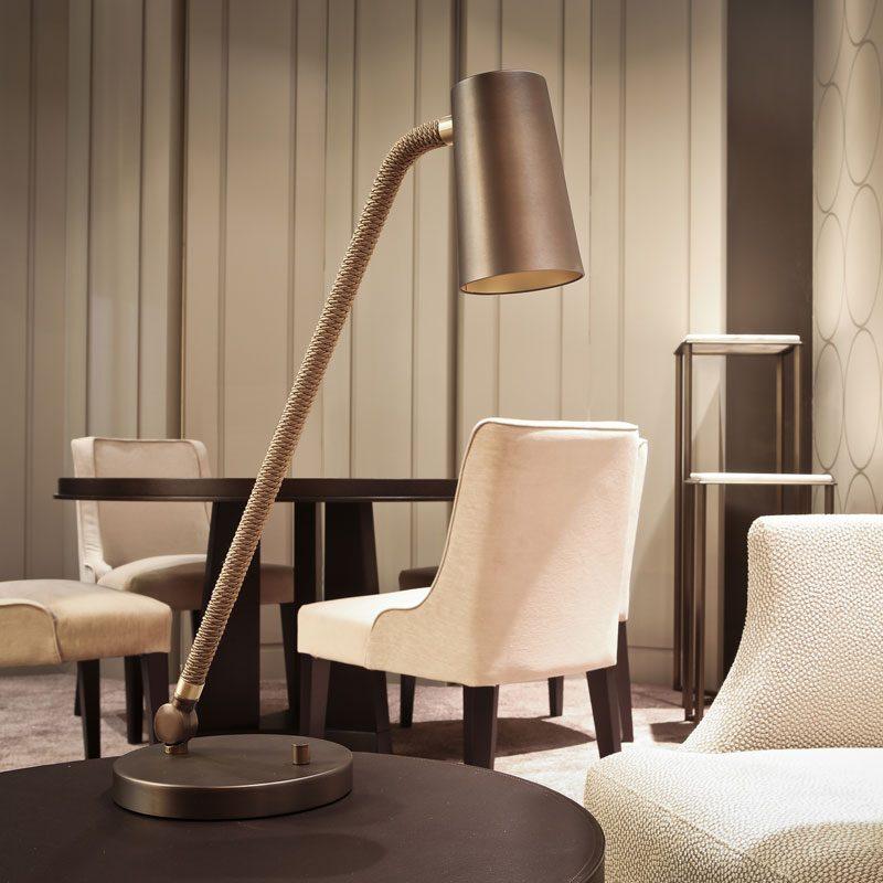 Contardi Up Desk Lamp Bronze F