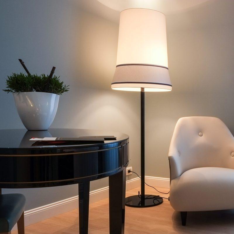 Contardi Audrey Floor Lamp Black C