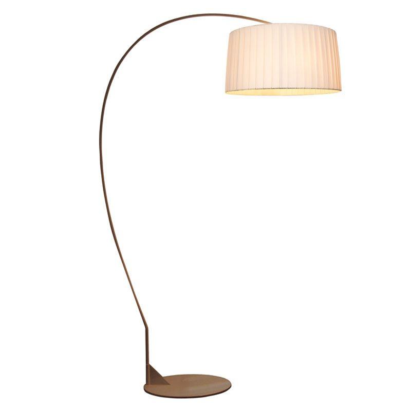 Contardi Divina Arco Floor Lamp Satin Bronze