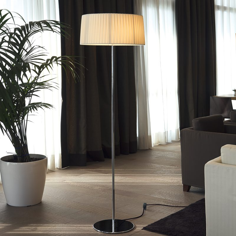 Contardi Divina Large Floor Lamp Satin Bronze C