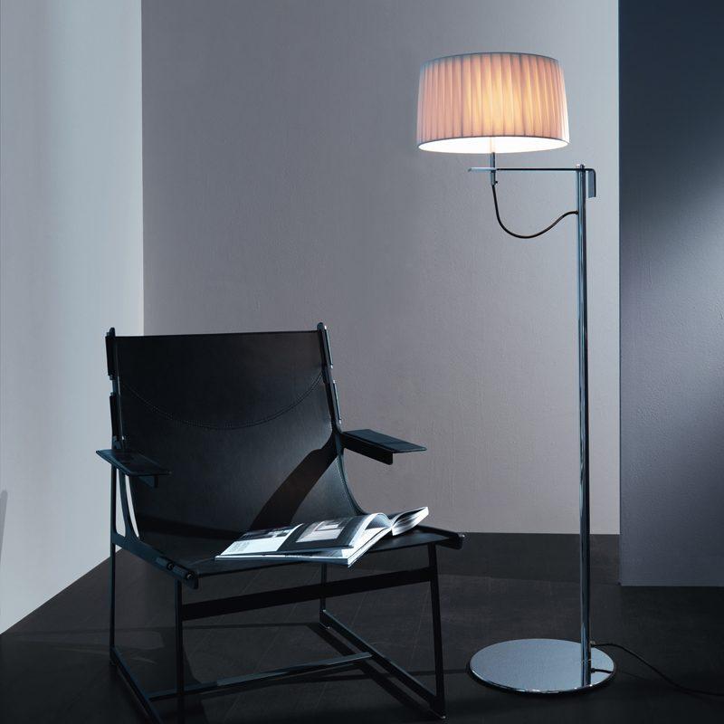 Contardi Divina Medium Floor Lamp Satin Bronze B