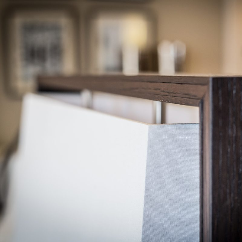Contardi Frame Floor Lamp Dark Oak B