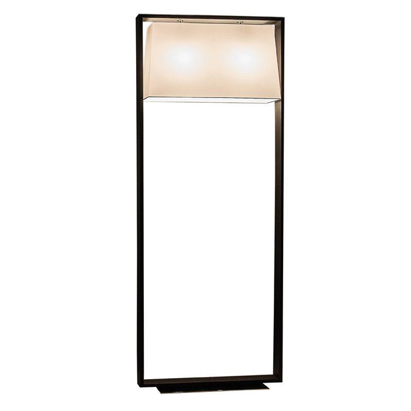 Contardi Frame Floor Lamp Dark Oak