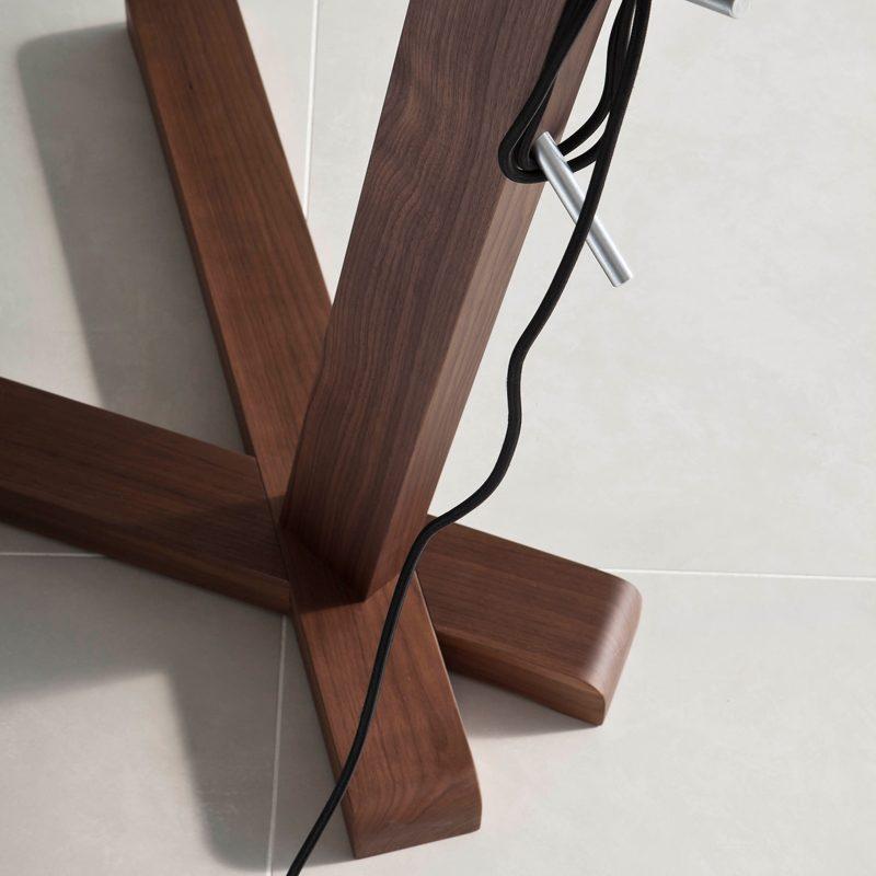 Contardi Oops Floor Lamp Dark Oak C