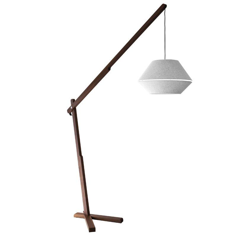Contardi Oops Floor Lamp Dark Oak