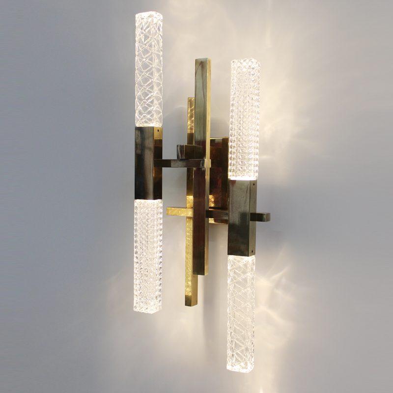 Contardi Mikado Wall Light Satin Bronze B