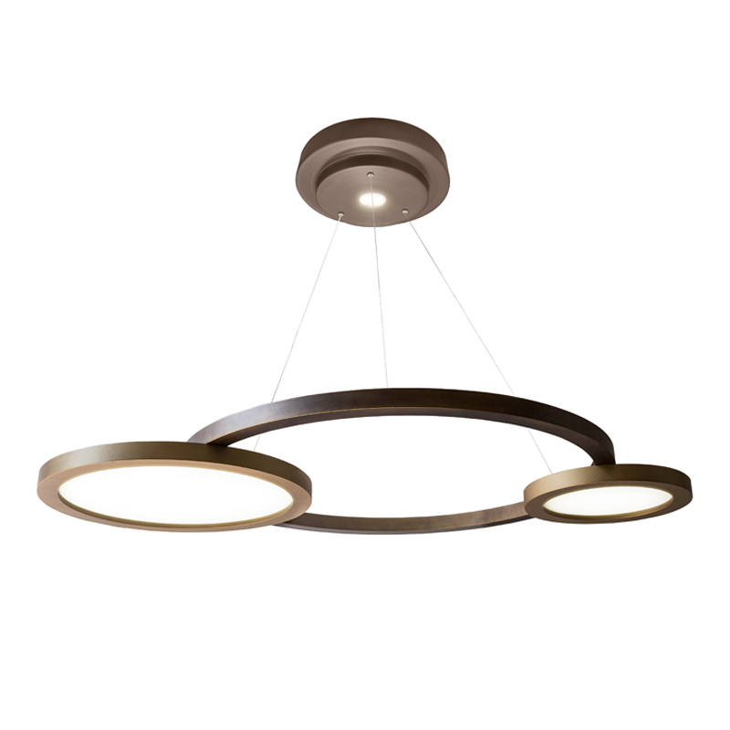 Contardi Eclisse Pendant Light Satin Bronze