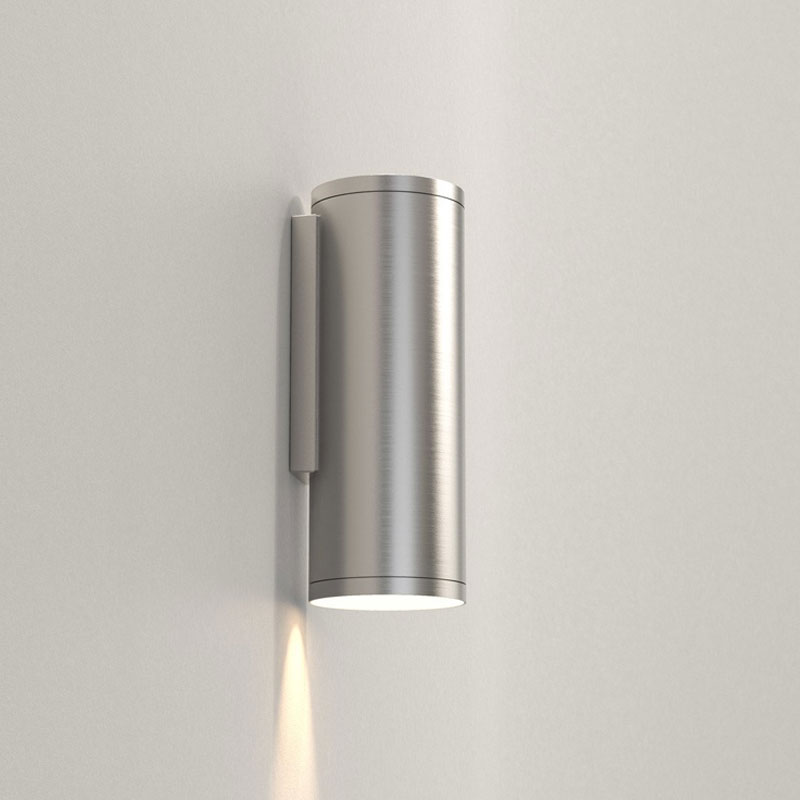 Astro Ava 200 Coastal Wall Light Brushed Stainless Steel C