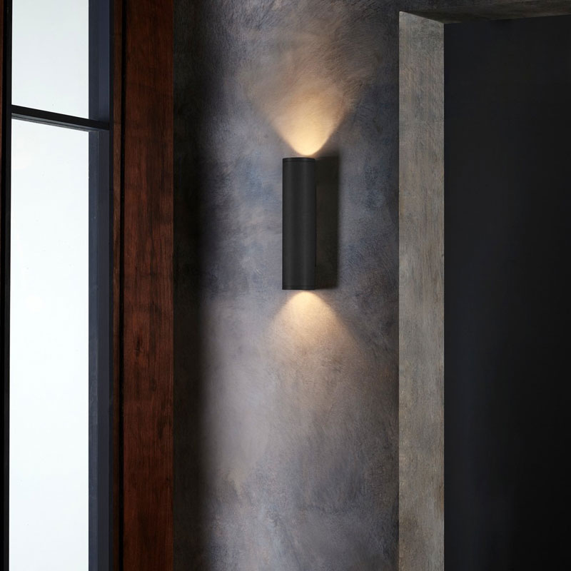 Astro Ava 300 Wall Light Matt Black B