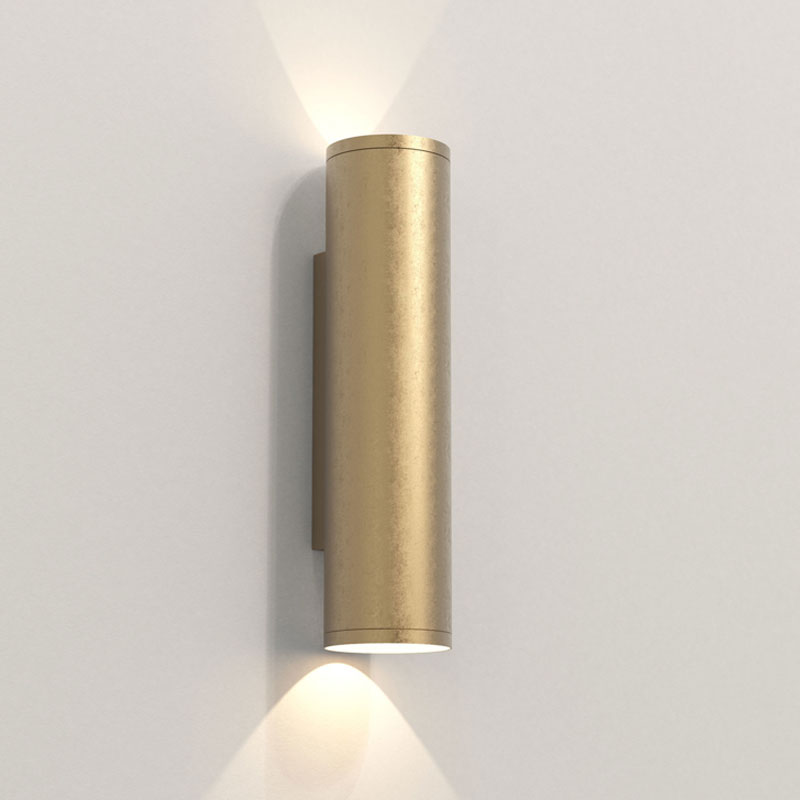 Astro Ava 300 Coastal Wall Light Coastal Brass D