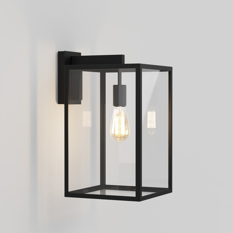 Astro Box Lantern 450 Wall Light Black.jpg