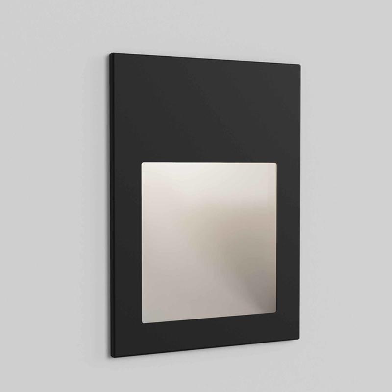 Astro Borgo 90 240v Wall Light Textured Black